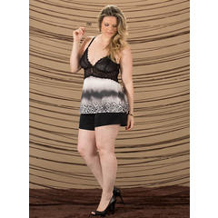 Short doll Plus Size Recco 7583