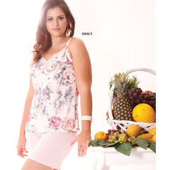 SHORT DOLL MICROFIBRA PLUS SIZE RECCO 5557