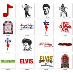 Bordados elvis presley