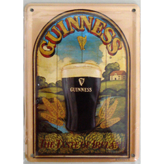 "Card Metálico - Cerveja Guinness ""The Taste of Irland"