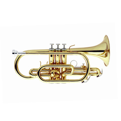 Cornet Sib WERIL laqueado com estojo  (MOD. EC1072L1)